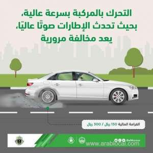 making-sounds-with-tires-while-driving-leads-you-to-pay-fine--muroor-saudi_saudi