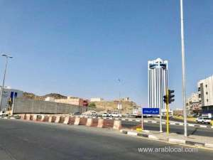 roads-shut-down,-20-traffic-lights-removed-in-taifs-al-woroud-area_saudi