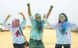 first-color-run-excites-over-1,500-runners-in-saudi-arabia's-eastern-province_kuwait