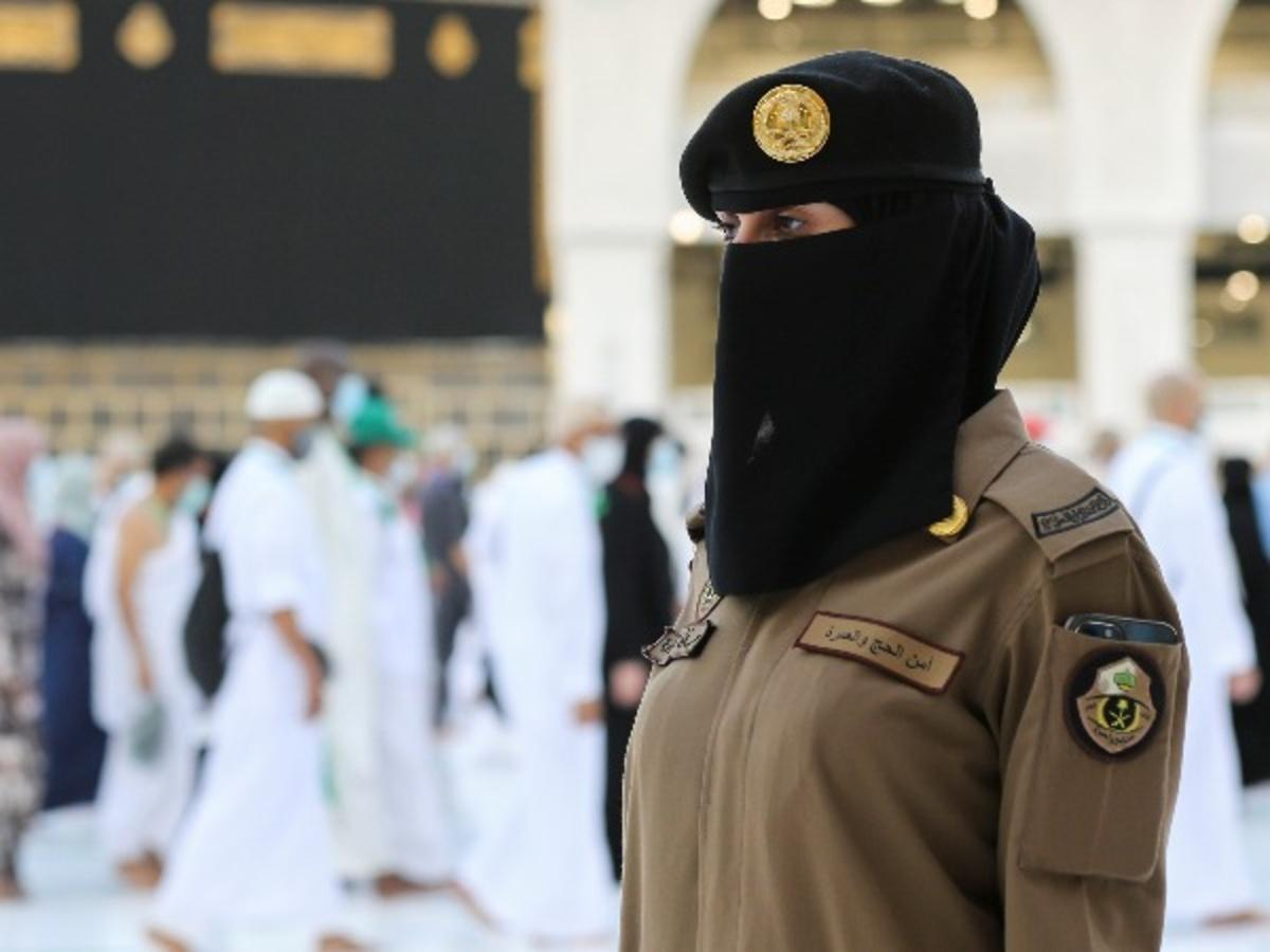Saudi Women Officers Are Standing Guard In Mecca During Hajj For The First Time In History